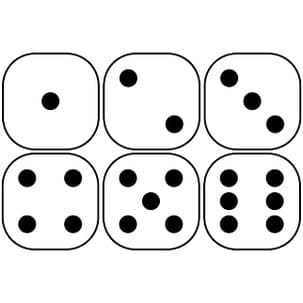 rolling dice probability activity answers